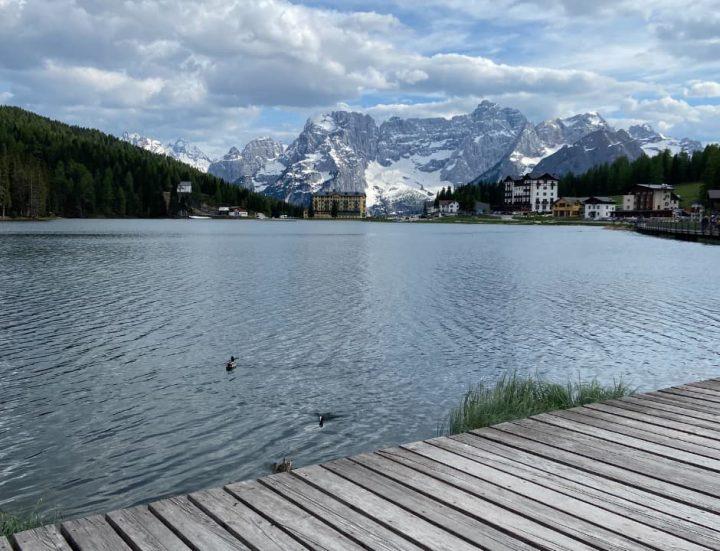 Lago Misurina, Dolomitas